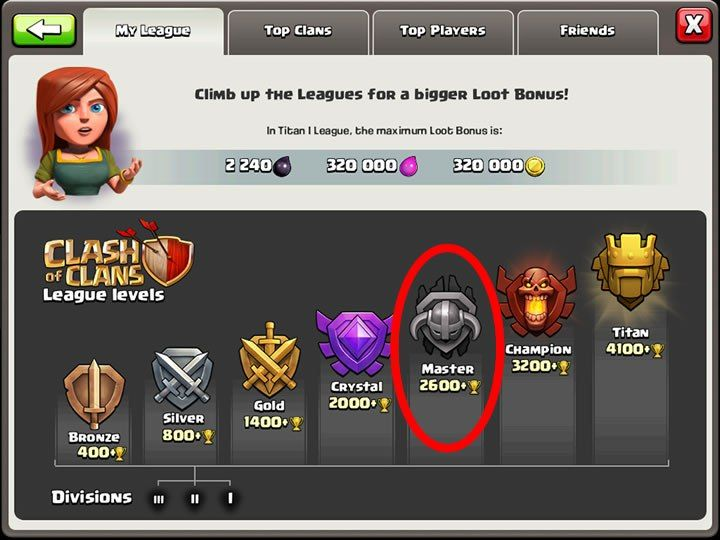 Clash of Clans Master League Attack Strategy