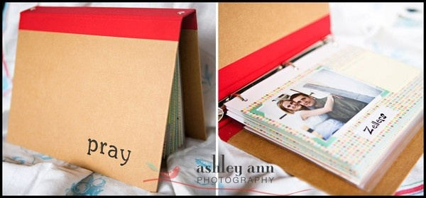Prayer book with pictures of all the people we pray for.....Cant wait to make this for Baby Girl