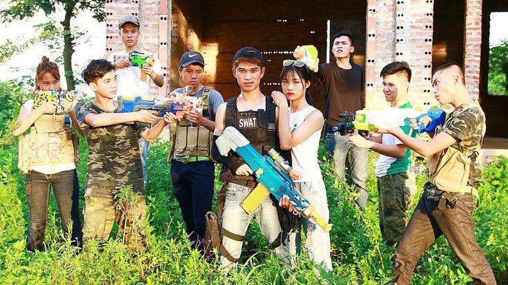 3T Nerf War : Squad Alpha Man Special Nerf guns Fight For Revenger Nerf War
