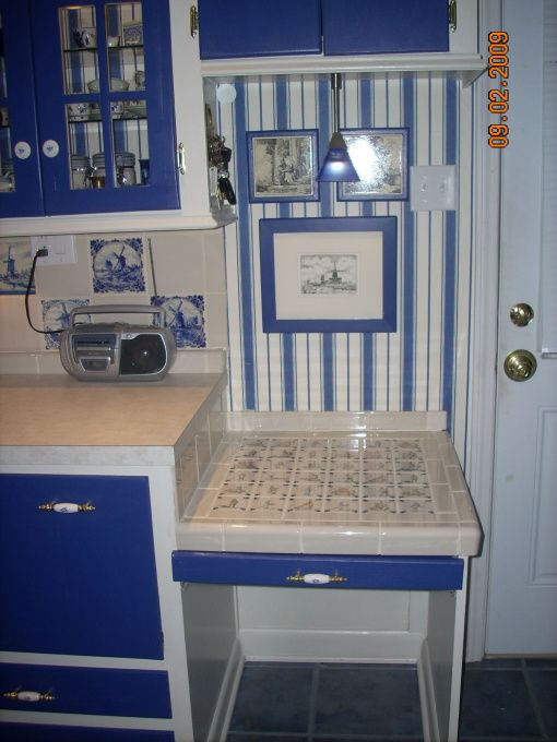 40 Best Images About Delft Tile Kitchens On Pinterest