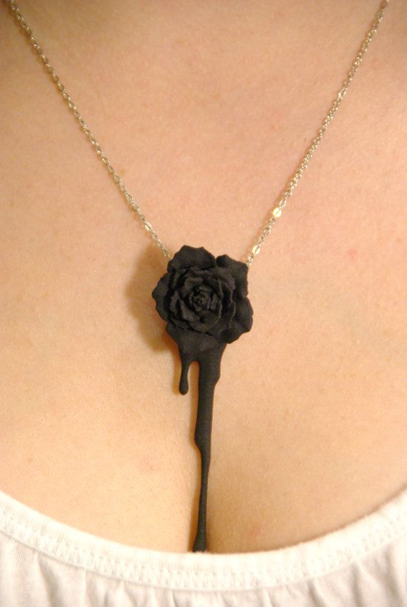 Hey, I found this really awesome Etsy listing at https://www.etsy.com/listing/109404809/bleeding-heart-rose-black