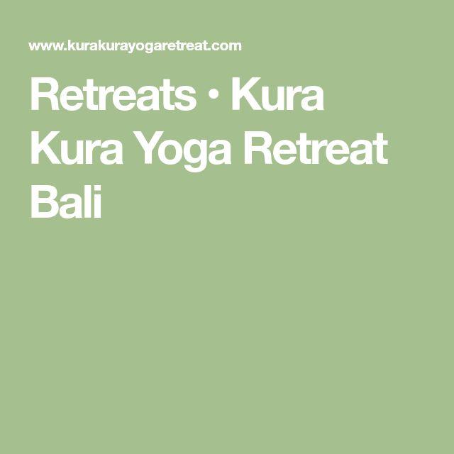 Retreats • Kura Kura Yoga Retreat Bali