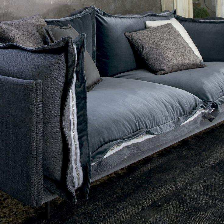 Auto Reverse Sofa Detail Contemporary Italian Living Room