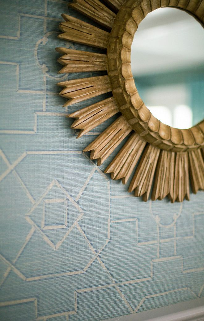 "Alexandra Rae Design Wallpaper is ""Thibaut Eastgate"" in Blue."