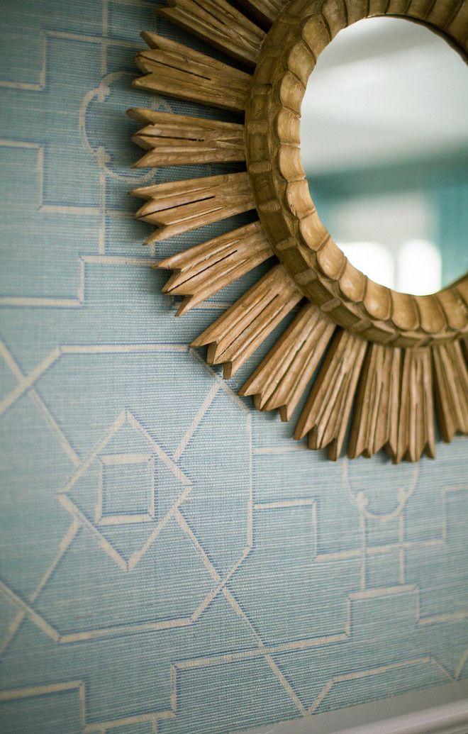 "Alexandra Rae Design Wallpaper is ""Thibaut Eastgate"" in Blue."