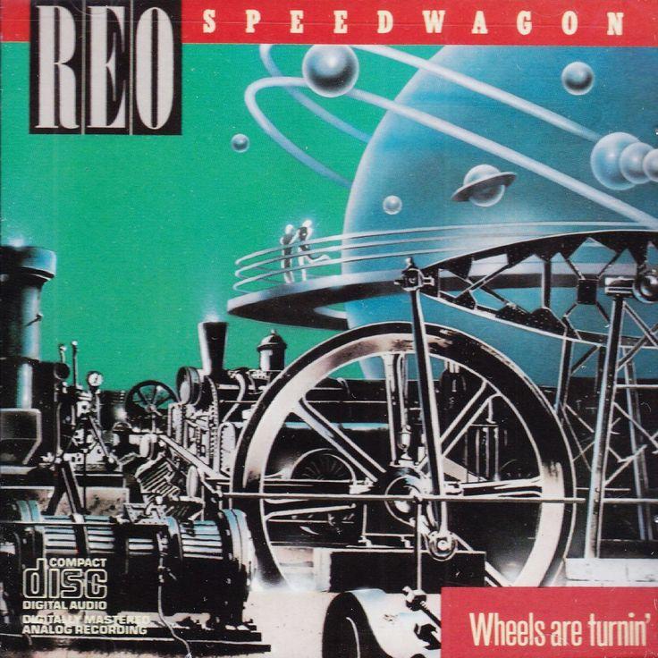 REO Speedwagon - Wheels Are Turnin' - CD
