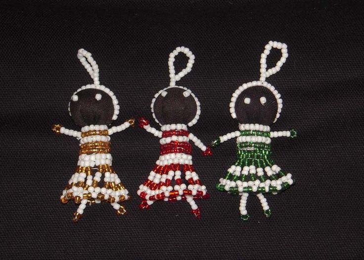 Angels - Siyakatala South African Craft   Christmas Decorations