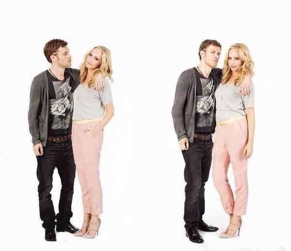 Joseph Morgan and Candice Accola