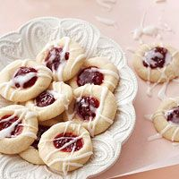 Raspberry-Almond Shortbread Cookies Recipe Made these 12/21...might be my new favorite!