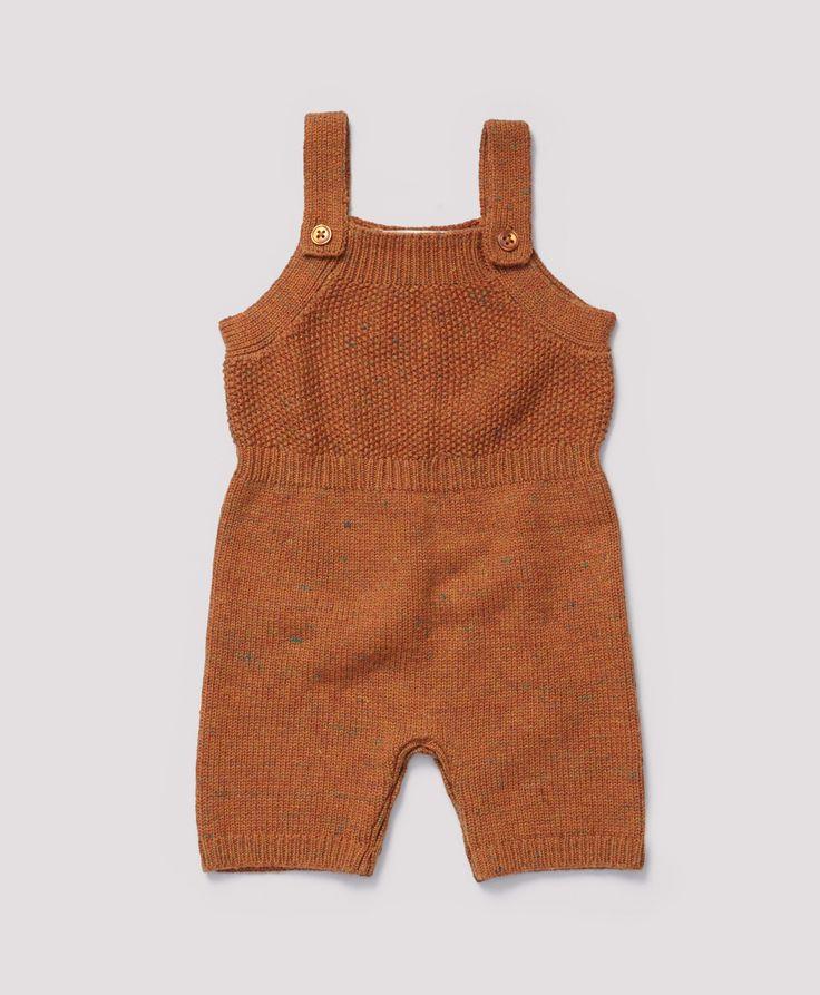 Darwin Baby Romper, Spice