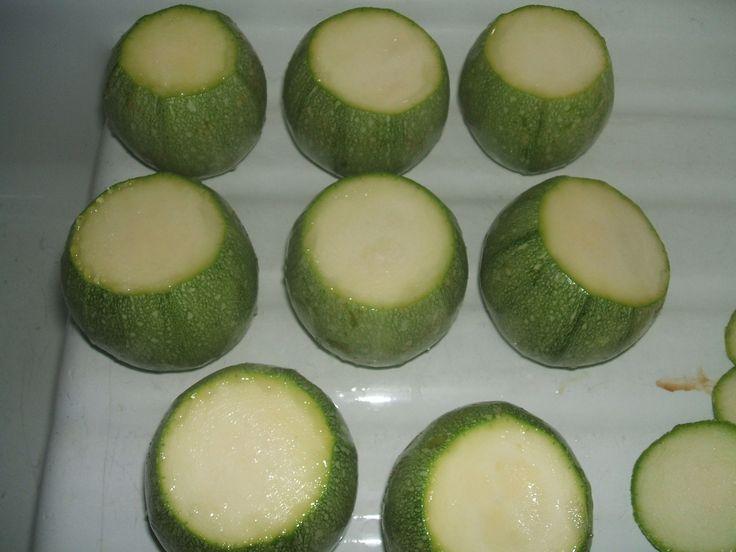 zucchine tagliate