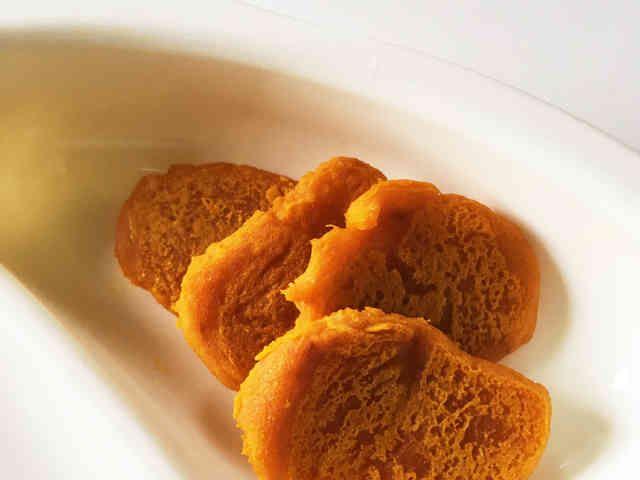簡単♡かぼちゃのおやき*離乳食中期の画像