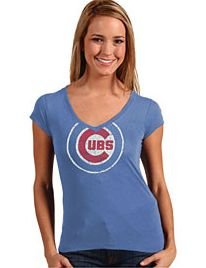 Women's Chicago Cubs Mahalo Tee By Red Jacket