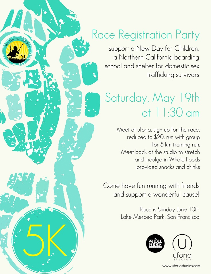 join us for a great cause on Sat May 19th, run, eat and sign up for the full event on June 10th