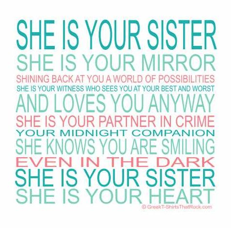 Blessed to have 3 great sisters!