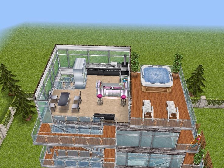 House 95 gated apartments level 5 #sims #simsfreeplay #simshousedesign