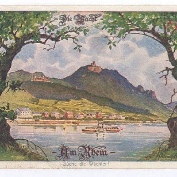 """WEBSTA @ freeulsterman - Die Wacht am #Rhein - Suche die Wächter - Bei den """"Wächtern"""" handelt es sich um Bismarck und Kaiser Wilhelm"""