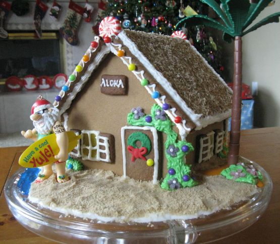 Beach Themed Gingerbread House: 244 Best Gingerbread Houses Images On Pinterest