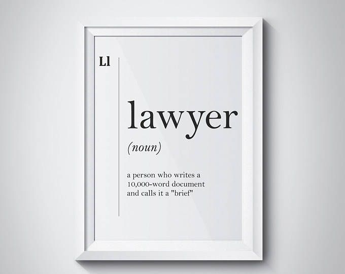 Funny Lawyer Definition Lawyer Art Lawyer Gift Lawyer Quotes