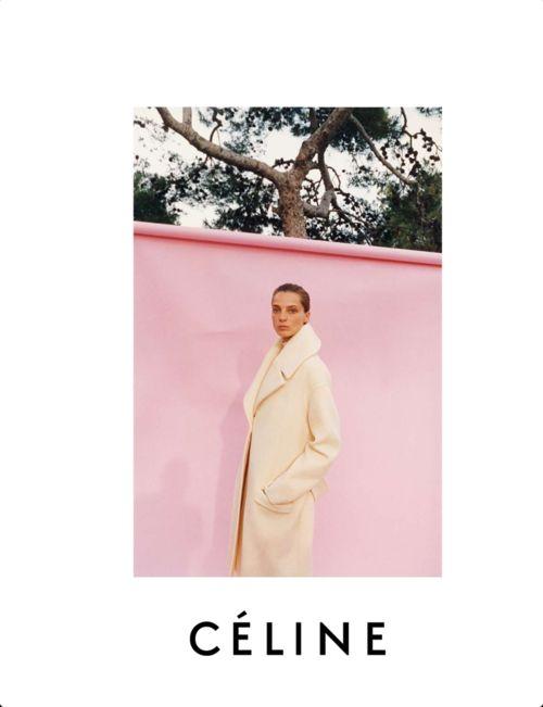 Céline F/W 2013/14 Ad Campaign/ Daria Werbowy by Juergen Teller