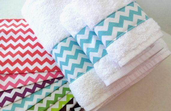7 ideas para decorar las toallas del baño - Las Manualidades
