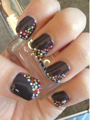 Imágenes de uñas pintadas fáciles - Belleza y Peinados