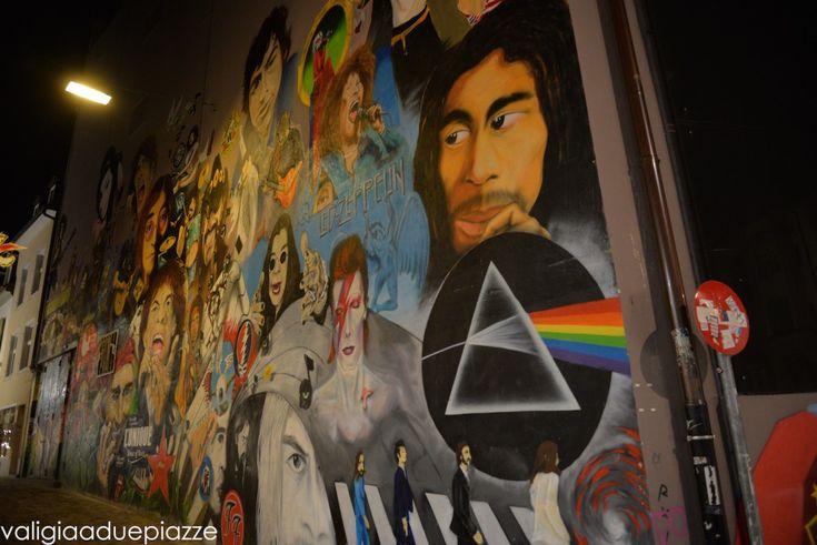 Street Art a Basilea, Svizzera. Muro del Rock - art4000