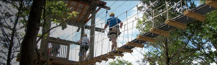 World Class Canopy Tours, Wolf Creek Zipline, Branson, MO