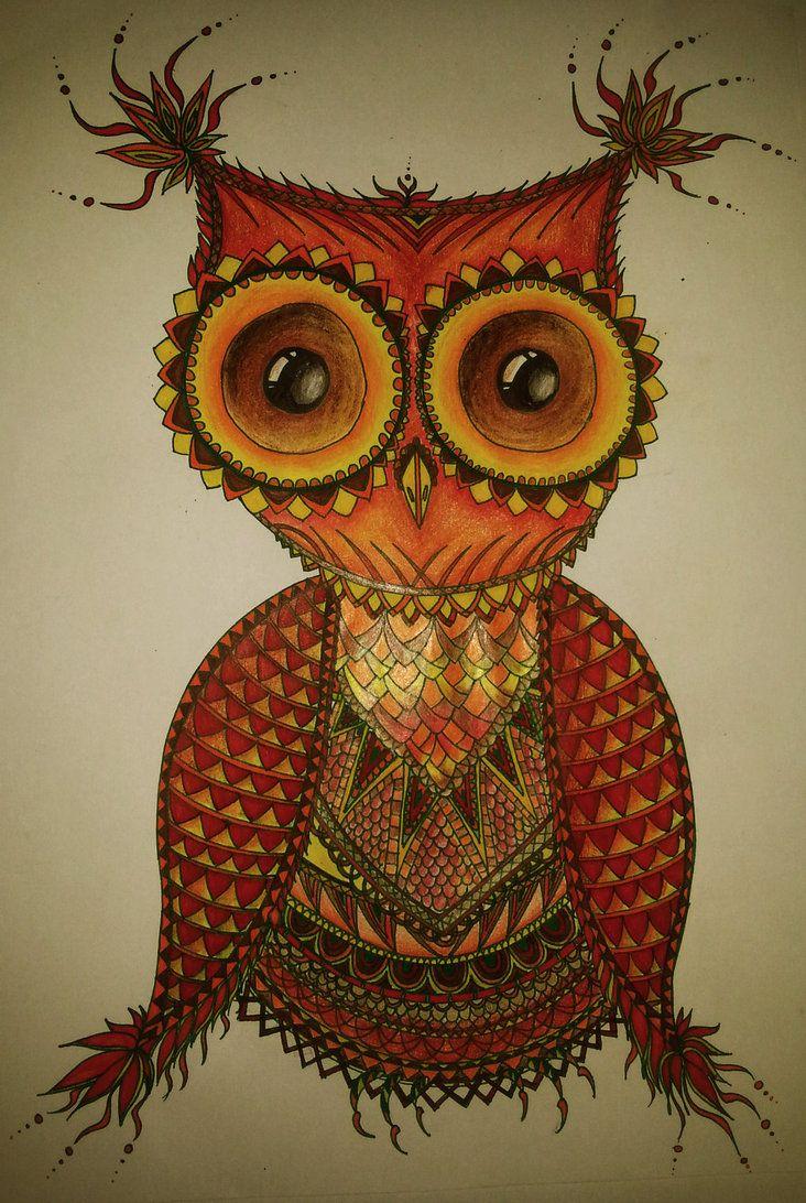 Owl by martystka