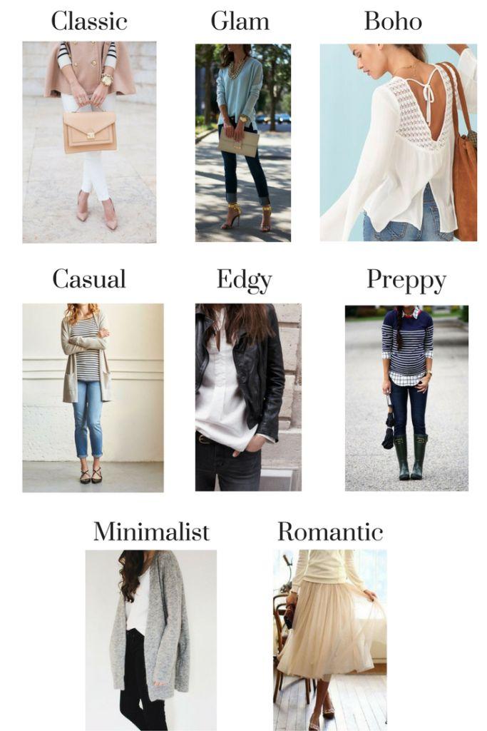 Best 25 Types Of Fashion Styles Ideas On Pinterest
