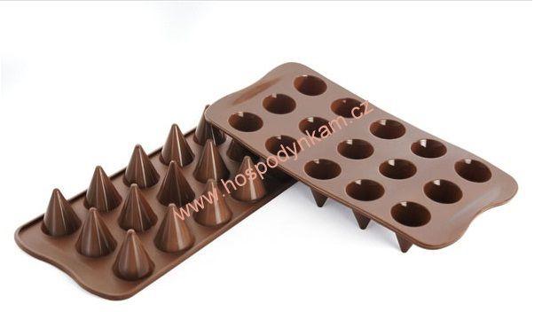 Silikonová forma na čokoládu Kono