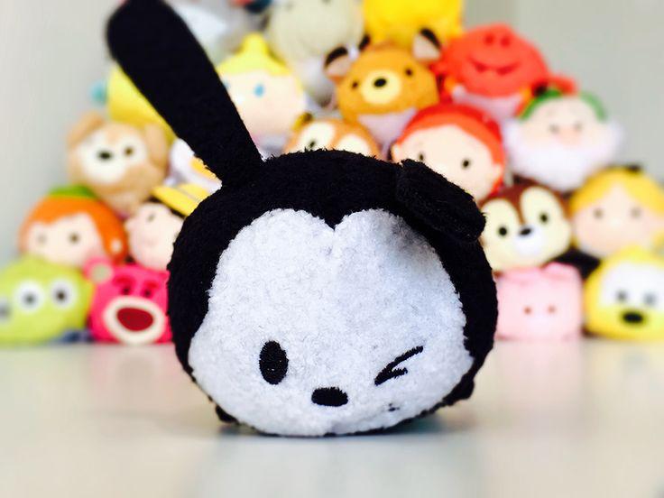 Winking Oswald the Lucky Rabbit Tsum Tsum from November's Tsum Tsum Subscription Box