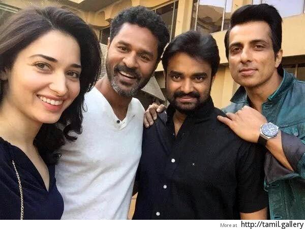 Prabhu Deva starts shoot of his Tamil film opposite Tamannaah - http://tamilwire.net/53506-prabhu-deva-starts-shoot-tamil-film-opposite-tamannaah.html