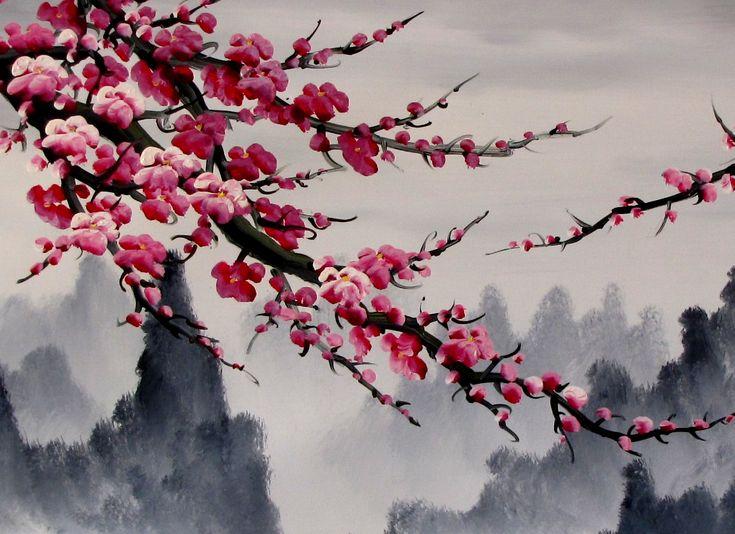 cherry blossom painting | 832-cherry-blossom-painting-1.jpg