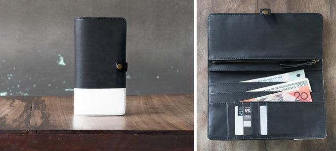 Far shores are calling. This travel wallet holds all your currencies, passport and more!