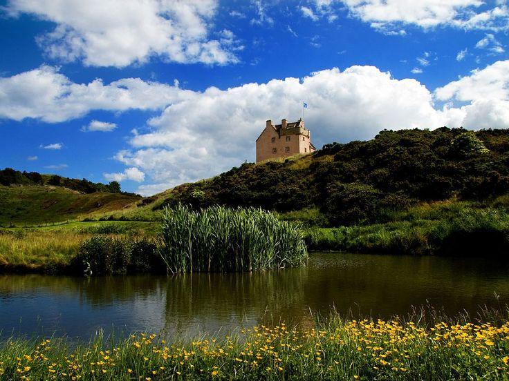 Schloss, in Schottland, East Lothian