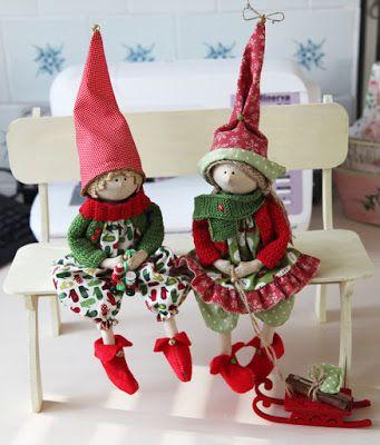 Lucias handmade: Новый год... подкрался незаметно)))