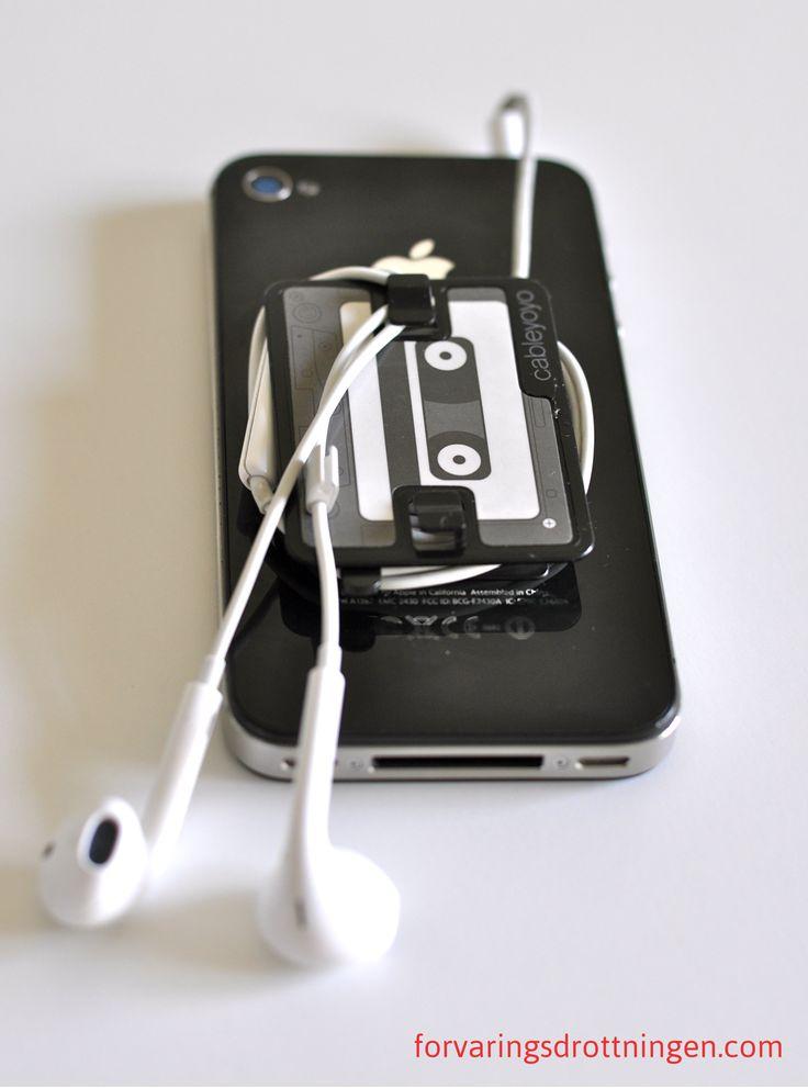 Slut på trassel med hörlurar Iphone
