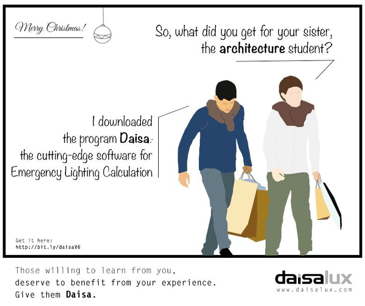 How is your Christmas time going so far? Did Santa make a good job? Remember that the best gift for those willing to learn from you is to benefit from your experience. Give them Daisa.