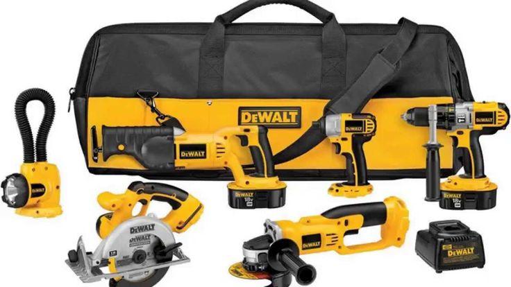 Combo Offers on Dewalt Power Tools at www.strumentu.com