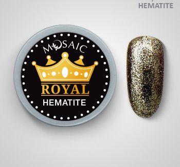 Mosaic Royal Gel Hematite