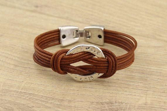 T-L693 Leather bracelet,Womens leather bracelet,men's leather cuff bracelet,genuine leather cord bracelet,personalized leather bracelet