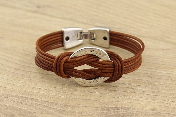 T-L693 Leather bracelet,Womens leather bracelet,men's leather cuff bracelet,genuine leather cord bracelet,personalized leather bracelet