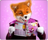 Don't forget to keep up to date with Foxy Bingo's Foxy Friends Magazine!