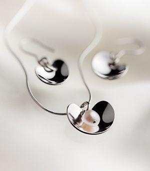 Kalevala-koru: Suojassa, In Safe My newest Kalevala jewelry given as a Christmas gift from my hubby <3