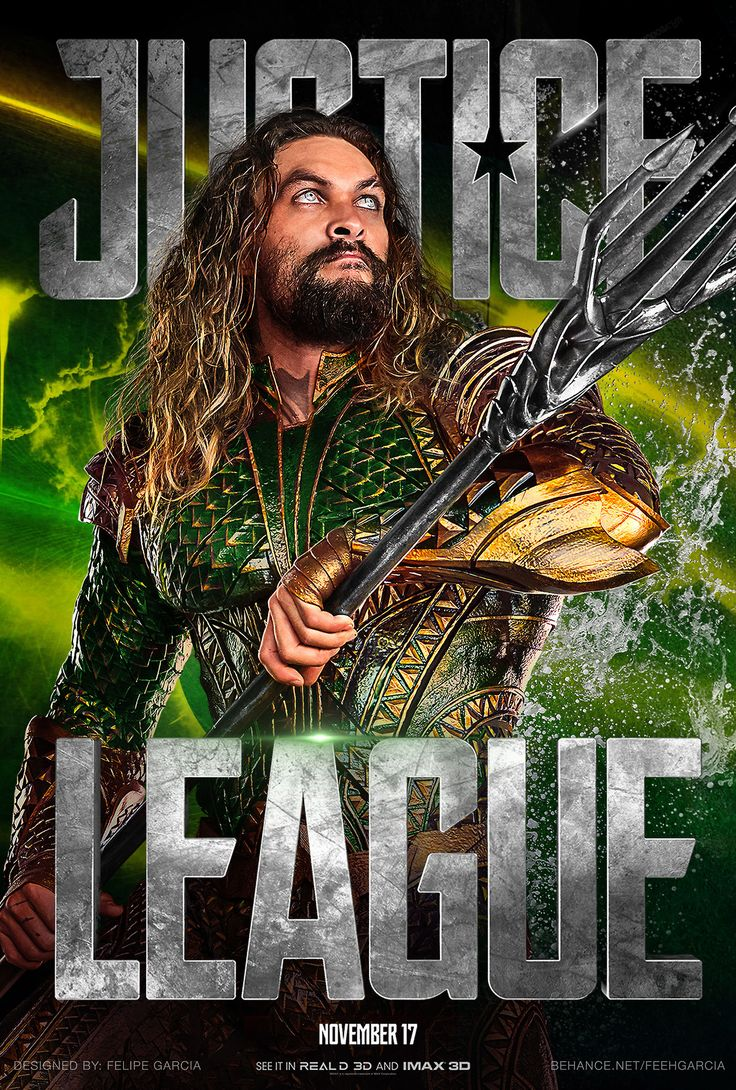 Justice League Movie Poster 2017 Featuring Jason Momoa as Aquaman, 19 Justice League Easter Eggs - DigitalEntertainmentReview.com