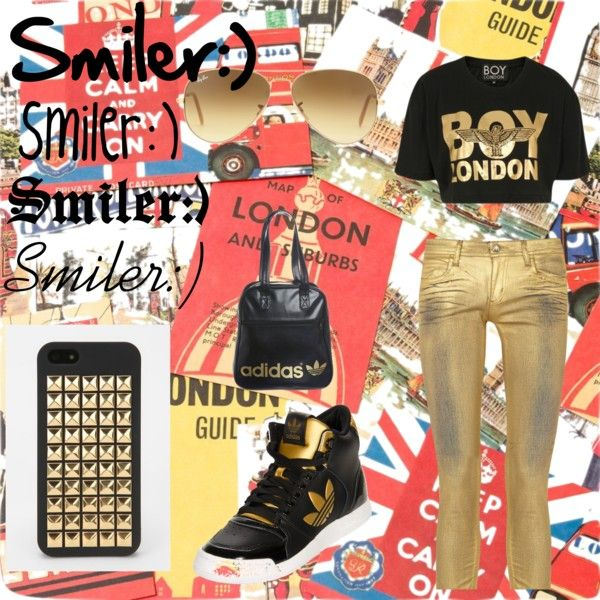 """""""BOY London"""" by serenitypretty ❤ liked on Polyvore"""