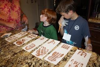 Annual Pack Campout??? Spy/CSI (Cub Scout Investigators) -  CSI - Crime Scene Investigation Party --- love the shoe tread prints