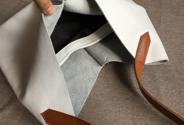 Genuine Leather Bag Handmade Vintage Leather Tote Bag Shoulder Bag Han | EverHandmade