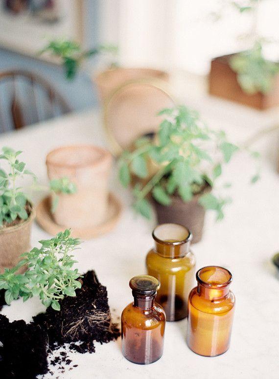 vintage amber bottles | Wedding & Party Ideas | 100 Layer Cake: